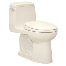 UltraMax® Eco ADA Compliant 1.28 GPF Elongated 1 Piece Toilet with SoftClose Seat