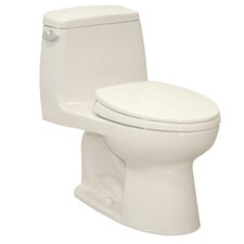 UltraMax® Eco 1.28 GPF Elongated 1 Piece Toilet with SoftClose Seat