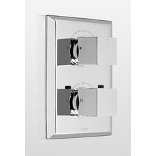Lloyd Thermostatic Mixing Valve Trim with Dual Volume Control