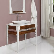 """Natasha 37"""" Single Bathroom Vanity Set"""