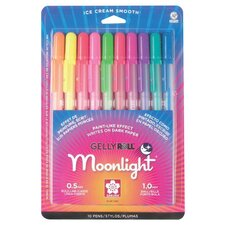 Moonlight Gelly Roll Assorted Pen (Set of 10)