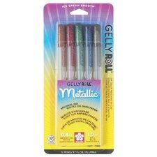 Gelly Roll Dark Metallic Pen (Set of 5)