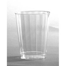 (240 per Carton) 10 oz Classicware Crystal Plastic Tumbler in Clear