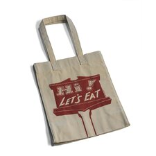 Hi! Let's Eat! Shopping Tote