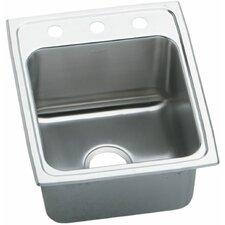 "Gourmet 17"" x 22"" Top Mount Kitchen Sink"