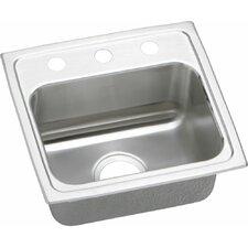 "Gourmet 17"" x 16"" Top Mount Kitchen Sink"