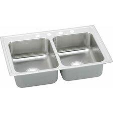"""Lustertone 29"""" x 18"""" Gourmet Kitchen Sink"""