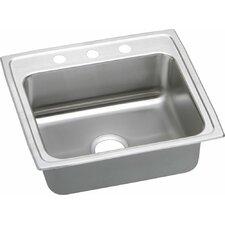 """Lustertone 22"""" x 19.5"""" Gourmet Kitchen Sink"""