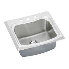 """Echo 25"""" x 22"""" Top Mount Kitchen Sink"""