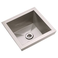 "Asana 16"" x 16"" Top Mount Kitchen Sink"
