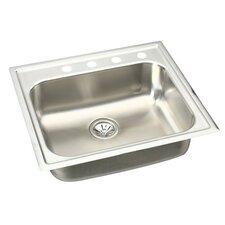 """Gourmet 25"""" x 22"""" Elumina Kitchen Sink"""