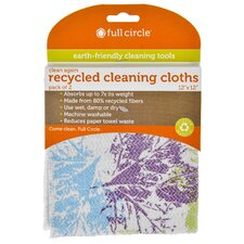 Recycled Cleaning Cloth (Set of 4)