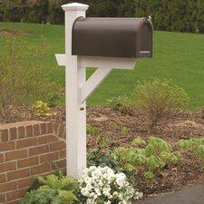 Hazleton Mailbox Post