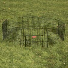 Everlasting Exercise Dog Pen with Door