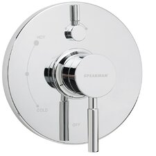 Neo Pressure Balance Diverter Shower Valve Trim