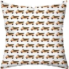 Vrrmm Vrrmm Throw Pillow