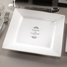 "Personalized Balance 11.63"" Dinner Plate"