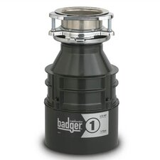 Badger Series 1/3 HP Garbage Disposal with Continuous Feed