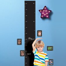 Growth Chart Chalkboard Wall Decal