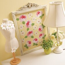 Roses and Daisies Wall Decal