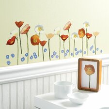 Springtime Poppies Wall Decal