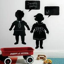 Vintage Kids Chalkboard Wall Decal