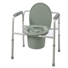 Three-in-One Elongated Commode (Set of 2)