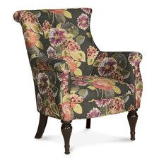 Bombe Traditional Wingback Chair
