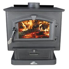 2,000 Square Foot Wood Stove with Blower