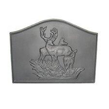 Deer Cast Iron Fireback