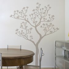 XXL Romantic Tree Wall Decal