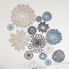 XXL Wallflowers Wall Decal