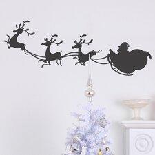 Christmas 2013 Sleigh Wall Decal