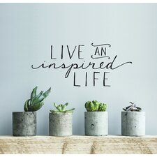 Blabla Inspired Life EN Wall Decal
