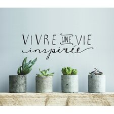 Blabla Une Vie Inspirée FR Wall Decal
