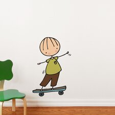 Piccolo Skateboard Hero Wall Decal