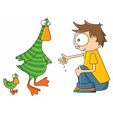 Ludo Duck and Sonny Wall Decal