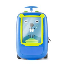 "GoVinci ""Look What I Made"" Suitcase in Blue"