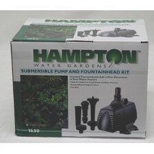Pump/Fountain Kit 1630 Gph