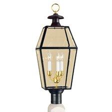 Olde Colony 3 Light Outdoor Post Lantern