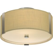 Butler 1 Light Flush Mount