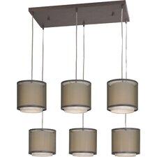 Brella 6 Light Drum Chandelier