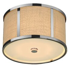 Butler 2 Light Flush Mount