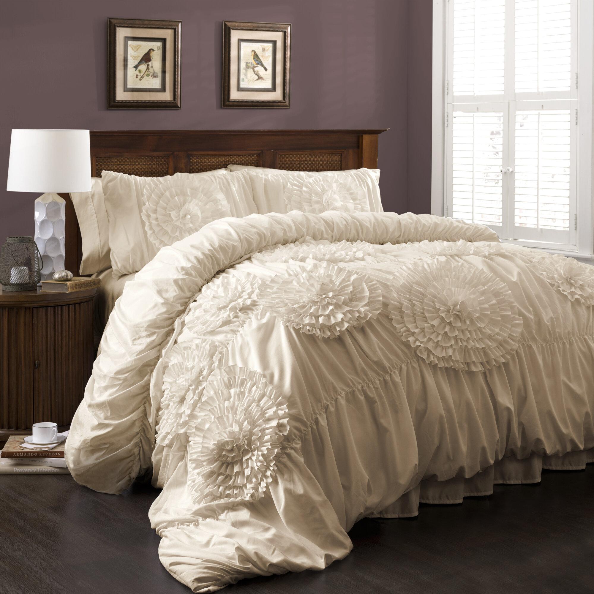 Down Comforter Queen Serena %%%%piece Comforter Set C