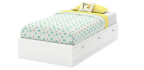 kids' bedroom bed with storage