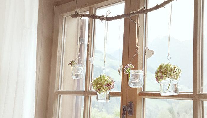 Diy romantische fensterdekoration freeform de wayfair - Fensterdekoration ideen ...