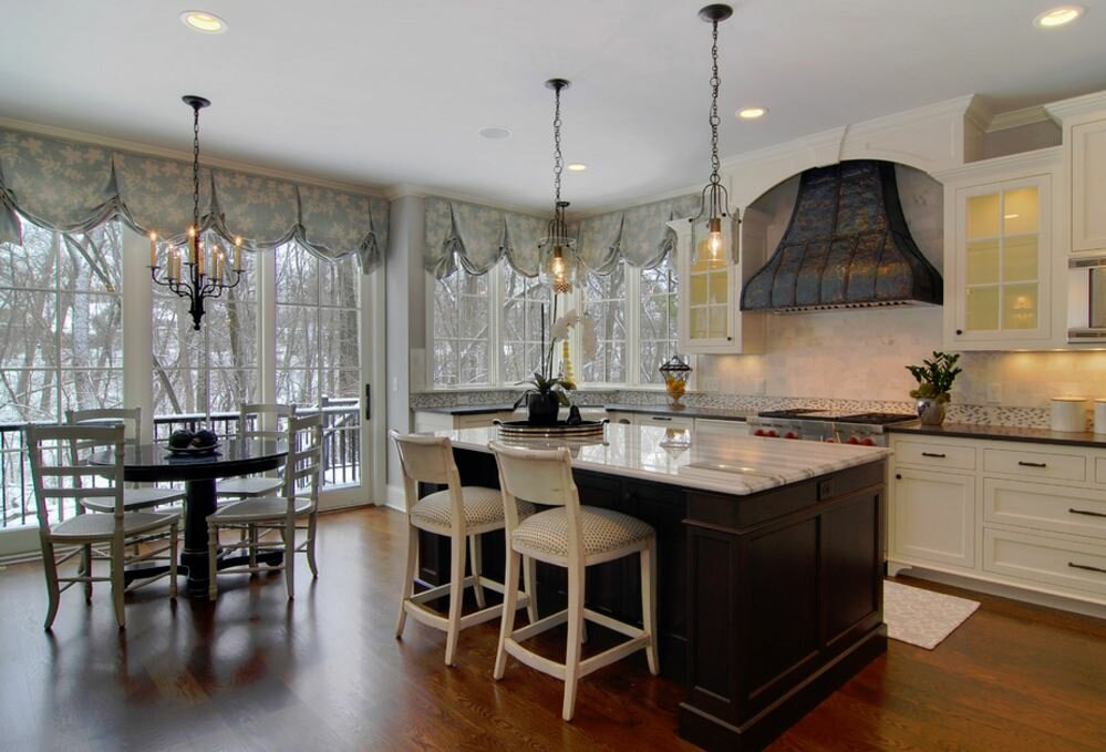 Contemporary Kitchen Valances