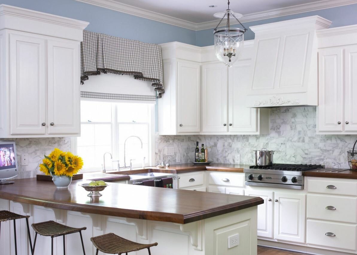Traditional Kitchen Valances