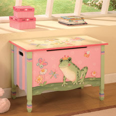 kids' bedroom toy box