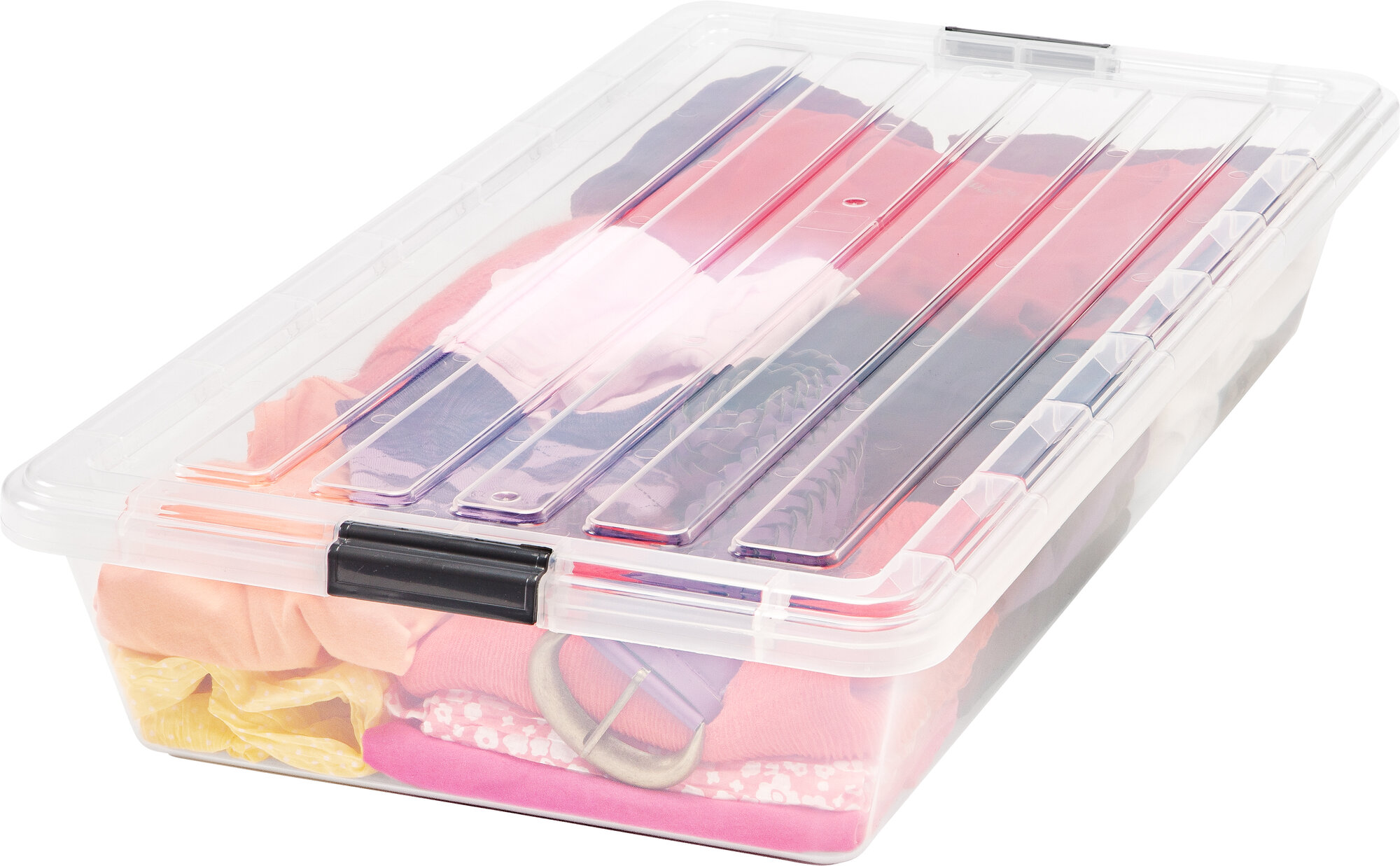 Iris Buckle Down Underbed Storage Box (Set of 6)